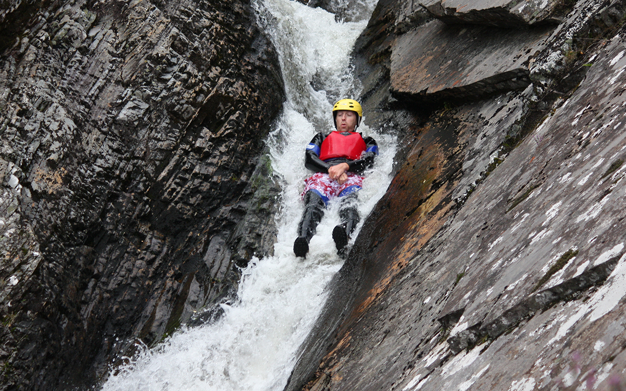 Canyoning in Aviemore